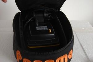 FC500 halradar táskában