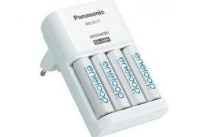 Panasonic Eneloop akkumulátor töltő